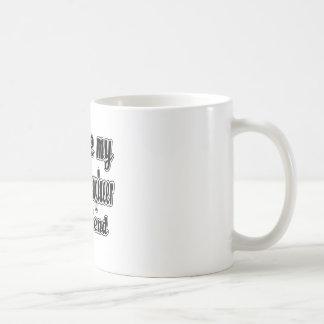 I love my Aerospace engineer girlfriend Basic White Mug
