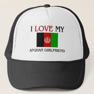 I Love My Afghan Girlfriend Trucker Hat