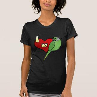 I Love my African Ringneck Parakeet T Shirt