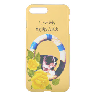 I Love My Agility Aussie, Yellow Roses 7+ iPhone 7 Plus Case