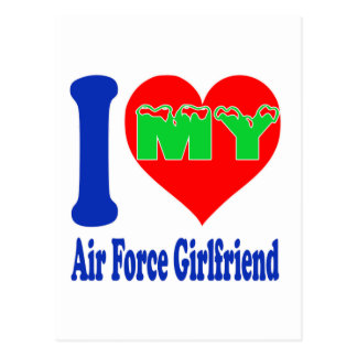 I love my Air Force Girlfriend. Post Card