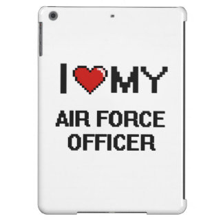 I love my Air Force Officer iPad Air Cover
