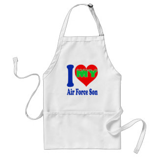 I love my Air Force Son. Aprons
