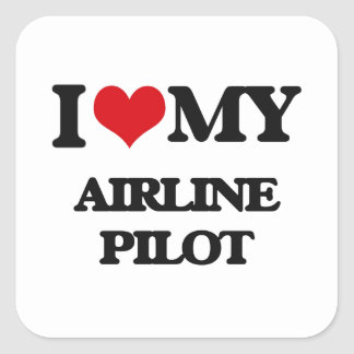 I love my Airline Pilot Stickers