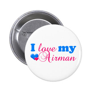 I love my Airman Button
