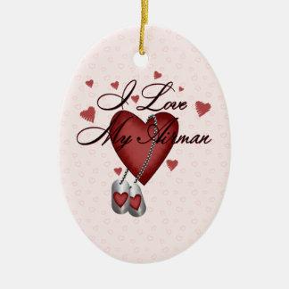 I Love My Airman Ornament