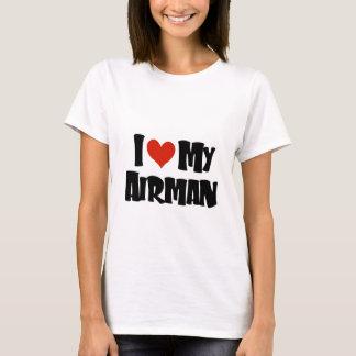 I love my Airman (Red) T-Shirt
