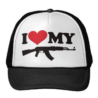I Love My AK47 Cap
