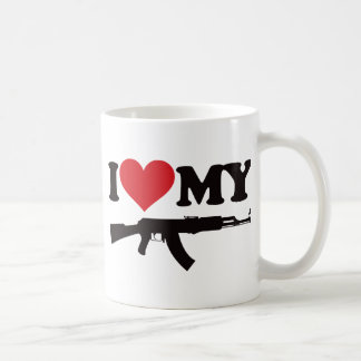 I Love My AK47 Coffee Mug