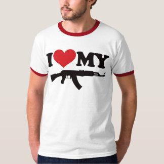 I Love My AK47 T-shirts
