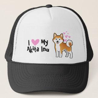 I Love My Akita Inu / Shiba Inu Cap