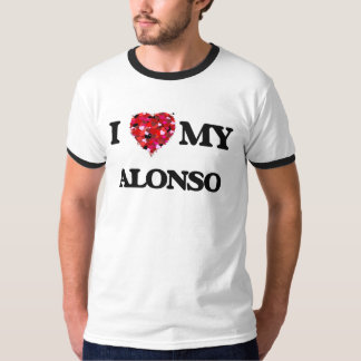 I love my Alonso T-shirt