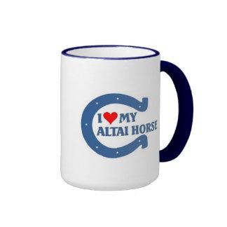 I love my Altai Horse Ringer Mug