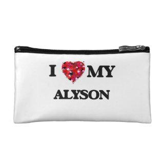 I love my Alyson Cosmetic Bag