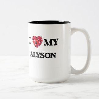I love my Alyson Two-Tone Mug