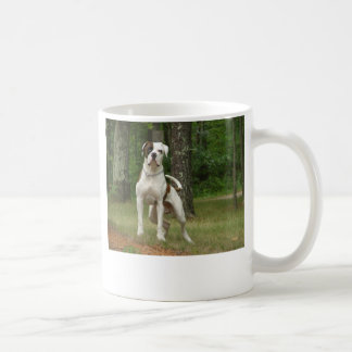 I LOVE MY AMERICAN BULLDOG COFFEE MUG