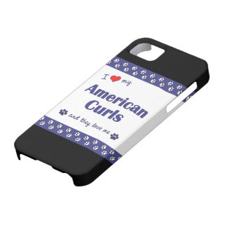 I Love My American Curls (Multiple Cats) iPhone 5 Case