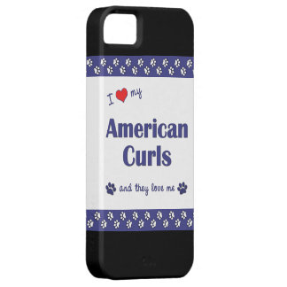 I Love My American Curls (Multiple Cats) Case For The iPhone 5