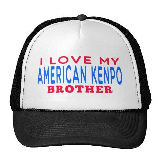I Love My American Kenpo Brother Trucker Hat