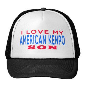 I Love My American Kenpo Son Trucker Hat