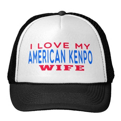 I Love My American Kenpo Wife Trucker Hat
