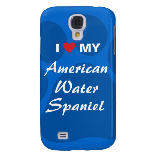 I Love My American Water Spaniel Galaxy S4 Case