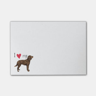 I Love my American Water Spaniel Post-it® Notes
