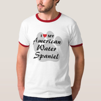 I Love My American Water Spaniel T-Shirt