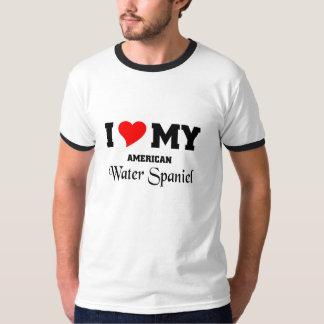 I love my American Water Spaniel T Shirts