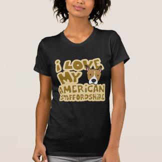 I Love My AmStaff Women's Twofer Shirt