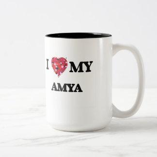 I love my Amya Two-Tone Mug