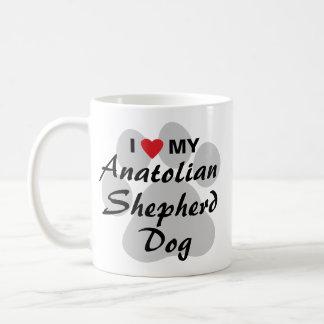 I Love My Anatolian Shepherd Dog Basic White Mug