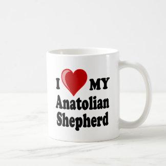 I Love My Anatolian Shepherd Dog Coffee Mugs