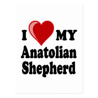I Love My Anatolian Shepherd Dog Postcards