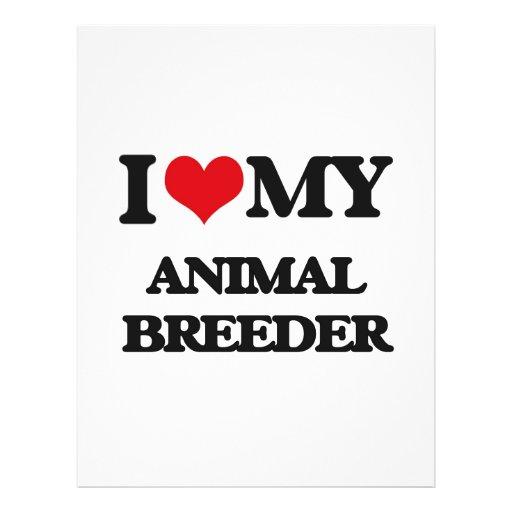 I love my Animal Breeder Full Color Flyer