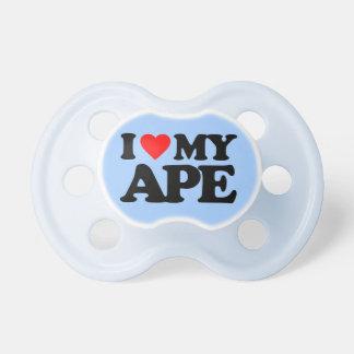 I LOVE MY APE BooginHead PACIFIER