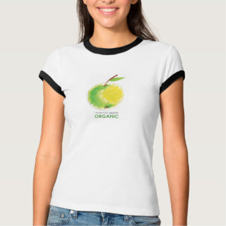 I love my apples organic. t shirts