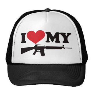 I Love My AR15 Cap