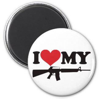 I Love My AR15 Magnet