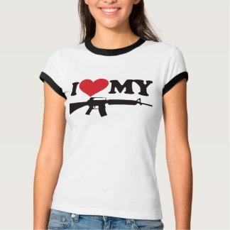 I Love My AR15 T-shirt