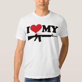 I Love My AR15 Tees