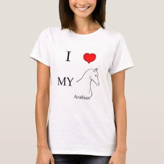 I love my arabian horse T-Shirt