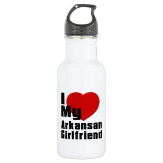 I Love My Arkansan Girlfriend 532 Ml Water Bottle