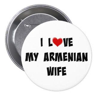 I Love My Armenian Wife 7.5 Cm Round Badge