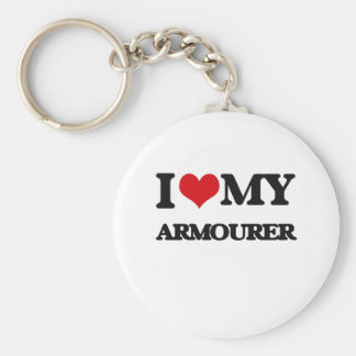 I love my Armourer Basic Round Button Key Ring