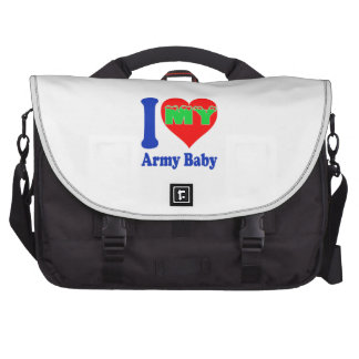 I love my Army Baby Laptop Bag