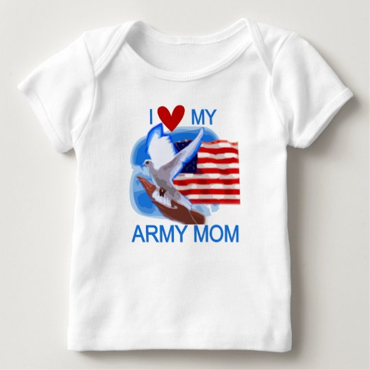 I Love My Army Mum Tshirts and Gifts