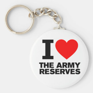I Love my Army Reserve Key Chains