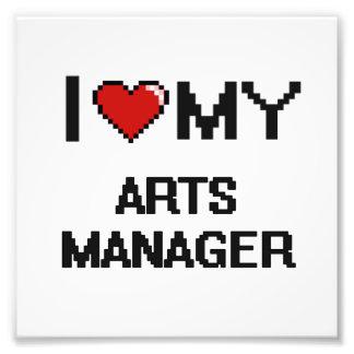 I love my Arts Manager Photo Print