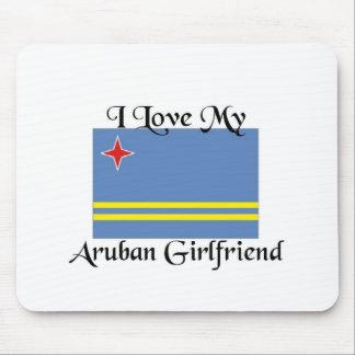 I love my Aruban Girlfriend Mouse Pads